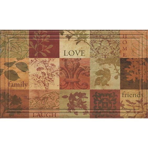 Indoor/Outdoor Patchwork Squares Doormat