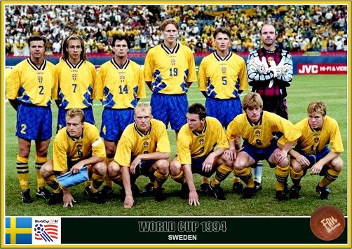 Fan Pictures 1994 Fifa World Cup United States Sweden Team World Cup World Cup Final Fifa World Cup