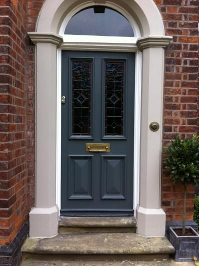Down pipe paint colours farrow ball colour of our for Front door paint colours