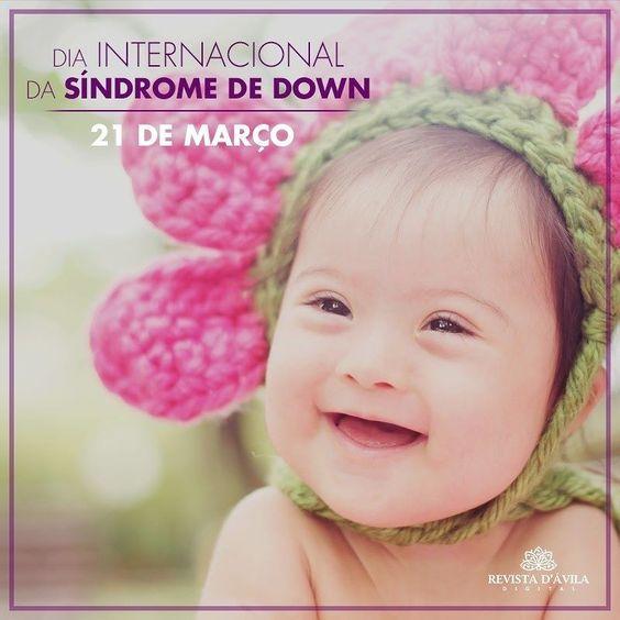Dia internacional da Síndrome de Down! Dia de muito respeito aos nosso Anjinhos! . http://ift.tt/1UOAUiP