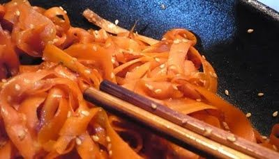 Rezept: Karotten-Kinpira