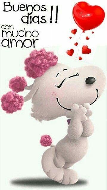 Buenos Dias Frases De Oração Snoopy Frases Frases De Amor