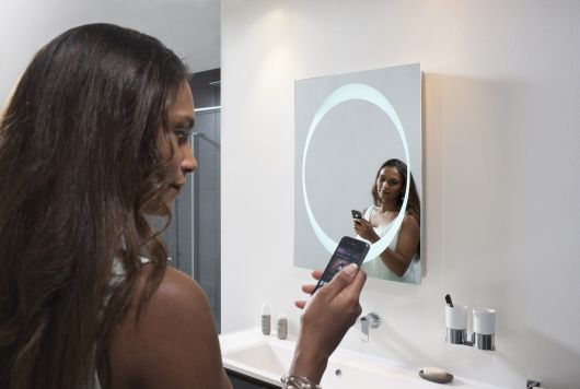 New range of Bauhaus mirrors with Bluetooth� wireless technology