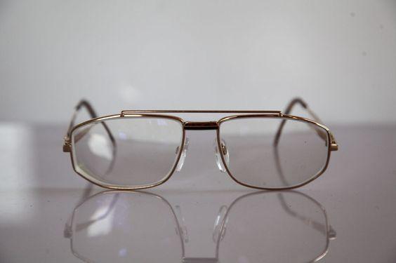 SILHOUETTE Eyewear, Gold Frame,  RX-Able Lenses Prescription. Austria  #Silhouette