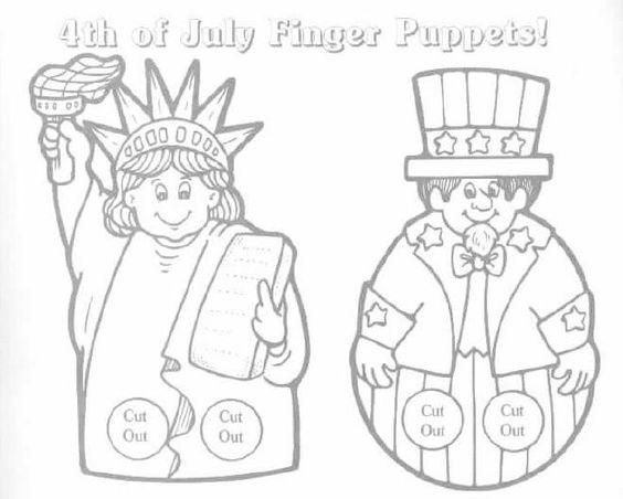 4th of july finger desserts