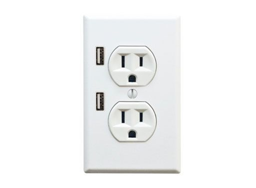Oh, you have my number USB Wall Charger/Outlet.