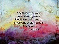 Friedrich Nietzsche - dancing