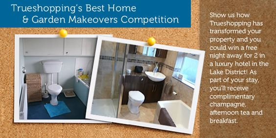 Our Home & Garden Makeovers Competition is now live!! See our tab on Facebook for more details or go to our website. http://www.trueshopping.co.uk/=176