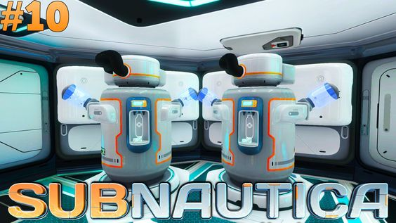 Subnautica - Water Filtration! #10
