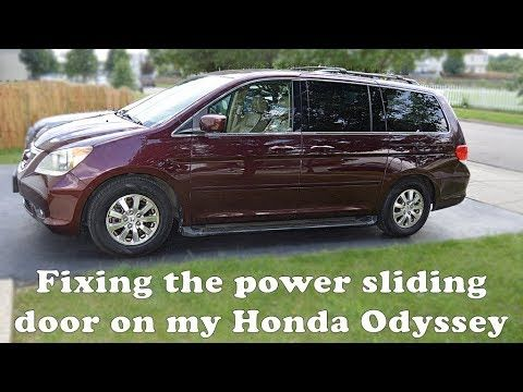 11 Odyssey Driver S Side Power Sliding Door Fix Youtube Power Sliding Doors 2010 Honda Odyssey