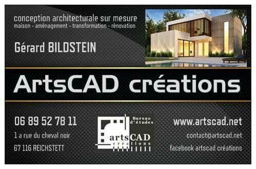 maison contemporaine cube Artscad