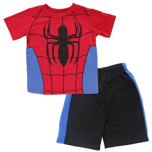 Spider-Man Boys/' 2-Piece Shorts Set Outfit