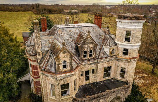 An Amazing Historic Castle Ashfeld Manor Goes To Foreclosure
