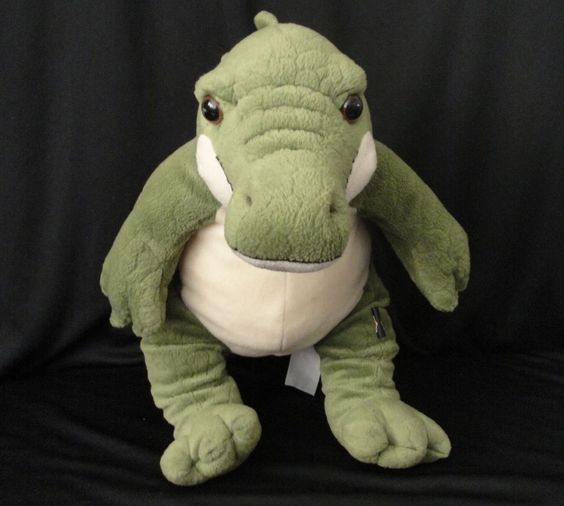 "Harley Davidson Alligator Plush Toy Croc 17"" Motorcycle Green Crocodile Stuffed in Collectibles, Transportation, Motorcycles 