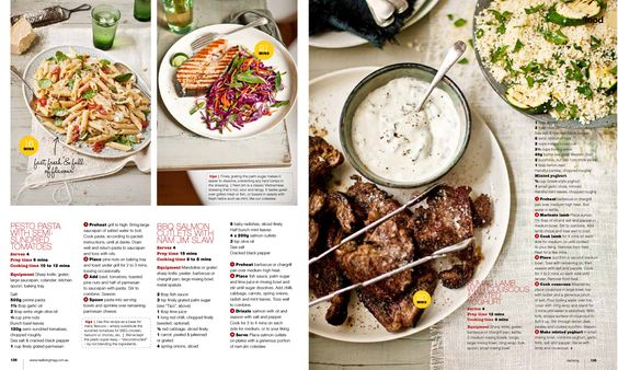 Sumac Lamb with Couscous + Minted Yoghurt