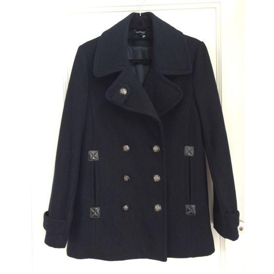 Topshop &quotUltimate&quot Peacoat / Pea Coat | Abrigos Beautiful y Topshop