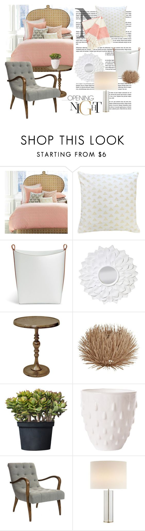 """Bedroom Decor"" by designed-4-life ❤ liked on Polyvore featuring interior, interiors, interior design, home, home decor, interior decorating, John Robshaw, Pinetti, Safavieh and Renwil"