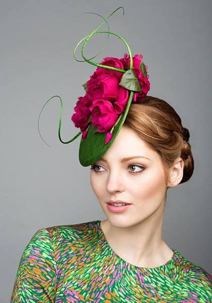 قبعات رسمية بالورد d604fbdf7653a5065697