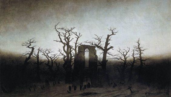 The Abbey in the Oakwood 1809-1810 - Friedrich