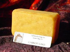 Sandy Sievers's Carrot Cake soap