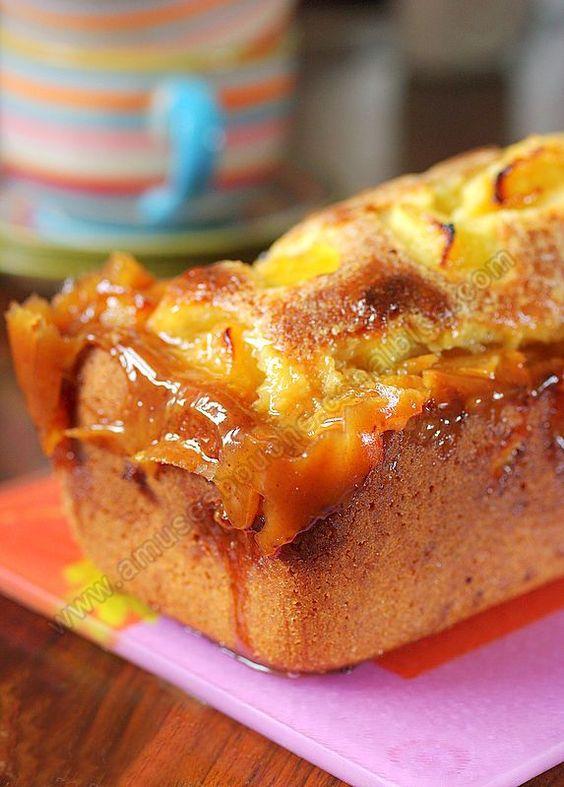 gâteau aux pommes sur amusesbouche.fr