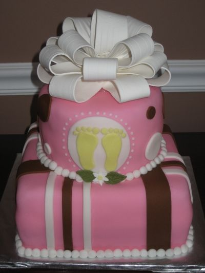 Baby shower cake By Jojo3481 on CakeCentral.com