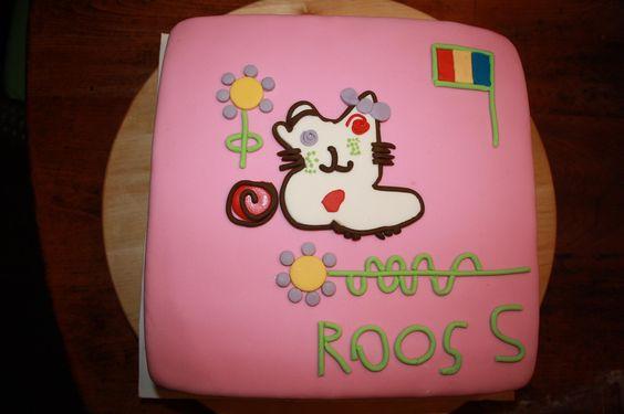 Eigen ontwerp van Roos (5 jaar)