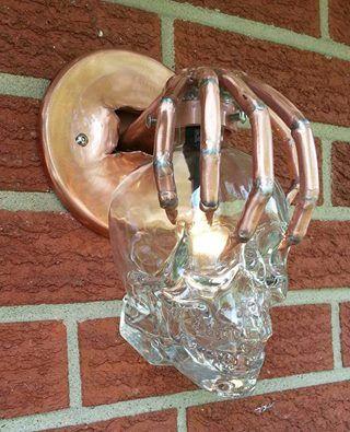 skull light:
