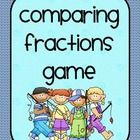 This is a fun game for students to play to pratice the skill of comparing fractions. Students will choose one card and whoever has the highest fraction keeps the cards. They will keep playing until all of the cards are gone. $2.00