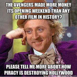 Piracy? Never heard of it...