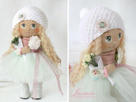 Кукла ручной работы кукла Тильда интерьера куклы Искусство по AnnKirillartPlace: