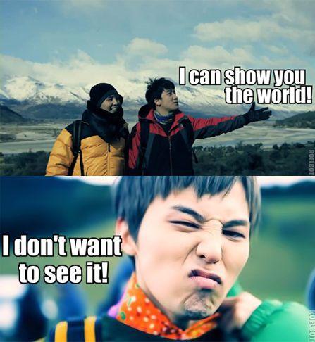 lol....G-Dragon (Kwon Ji Yong ) ♡ #BIGBANG