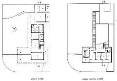 Resultado de imagem para planta residencial casa alta sergio bernardes