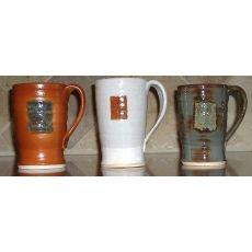 rustic handmade ceramic mugs