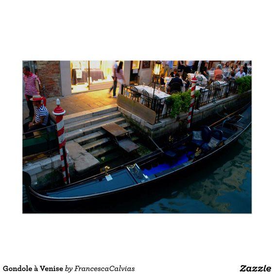 Gondole à Venise Posters