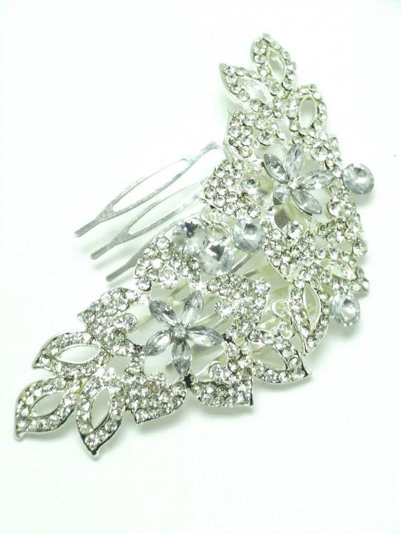 Crystal Drop Flower Passa