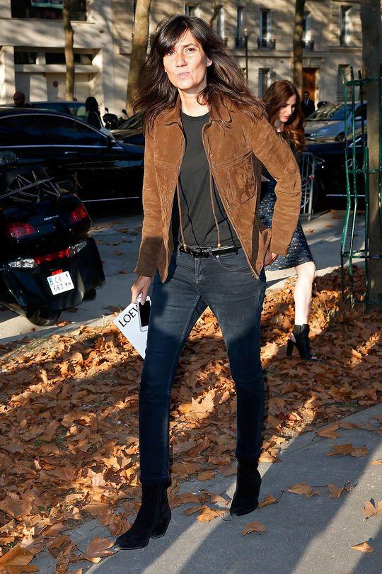 Look of the Day - Emmanuelle Alt, Chefredaktorin Vogue Paris - SI Style