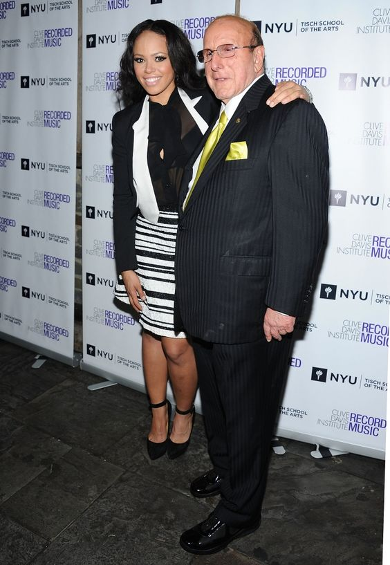 Elle Varner and music industry executive Clive Davis celebrate the power of education at the 10th anniversary celebration of the Clive Davis Institute of Recorded Music on Sept. 26 in New York