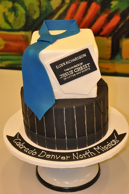 Missionary cake. So cool.