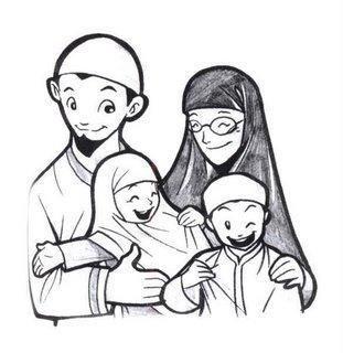 Kumpulan Gambar Kartun Muslimah 23