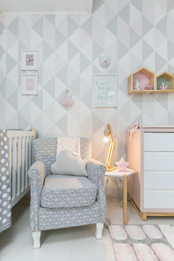 Quarto+de+bebê+estilo+escandinavo. Com nossa nova linha de móveis BO.