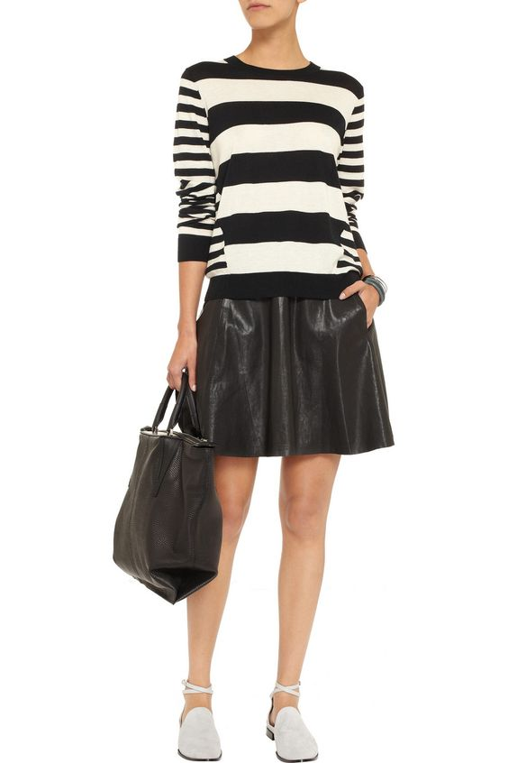 Iris & Ink Fine-knit striped cashmere sweater - Exclusively for THE OUTNET