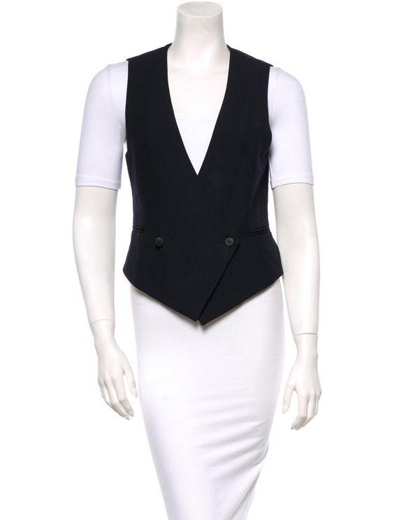 Rag & Bone Wool Vest - Outerwear - RAG25335 | The RealReal