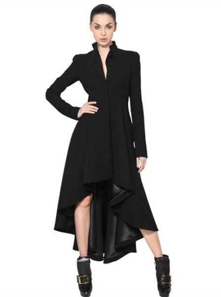 Alexander McQueen, long coat, long back, short front | LeeSaar ...
