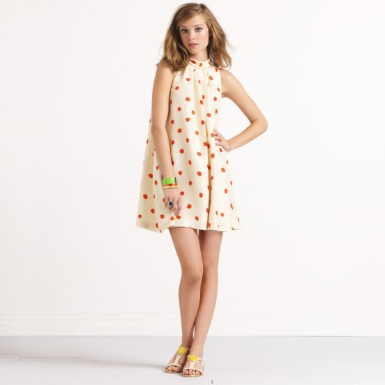 kate spade   dotted chandler romper