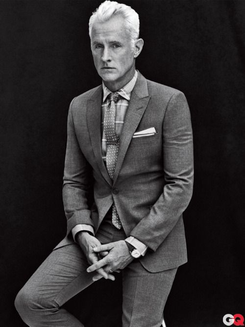 I like men in advertising - Mad Men's John Slattery in GQ