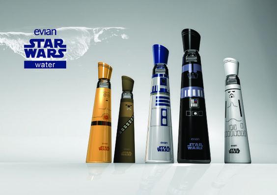 Evian Star Wars Edition