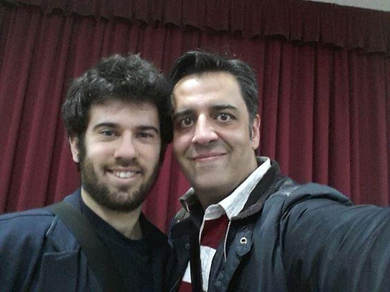 Mago Fernando Flores y Mago Tony Frackson.  Magia Solidaria con el Banco de Alimentos de Badajoz 2015