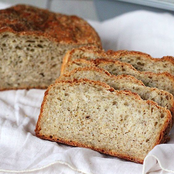 pear quinoa chai spice bread