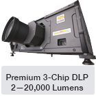 commercial outdoor projector enclosure